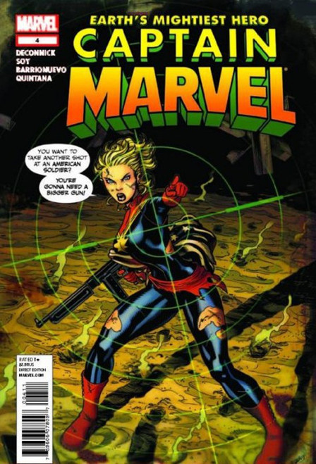 Marvel Comics Captain Marvel #4 Comic Book