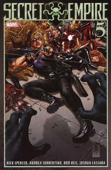 Marvel Comics Secret Empire #5 Comic Book