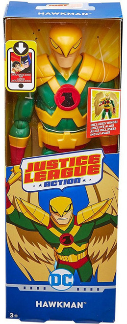 Justice League Action JLA Hawkman Action Figure