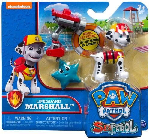 Paw Patrol Sea Patrol Lifeguard Marshall Figure