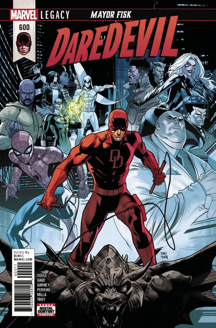 Marvel Comics Daredevil #600 Comic Book