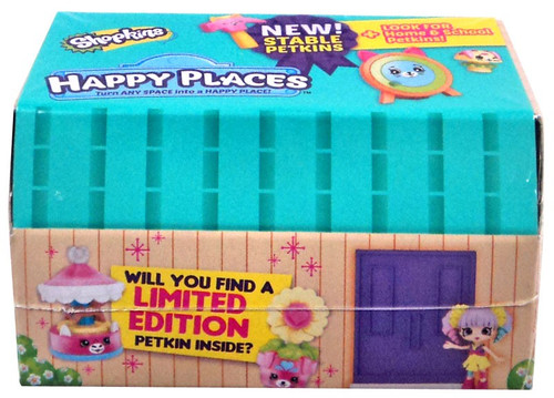Shopkins Happy Places Series 4 Petkins Surprise Delivery Mystery Pack [3 Petkins & 1 Tile]