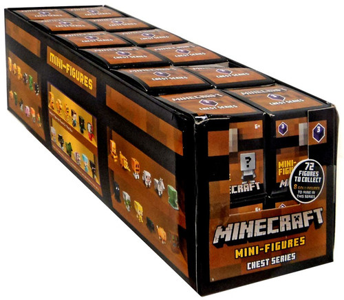 Minecraft Chest Series 3 (Purple) Mystery Box [24 Packs]