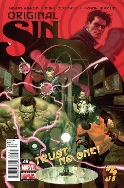 Marvel Comics Original Sin #4 Trust No One! Comic Book