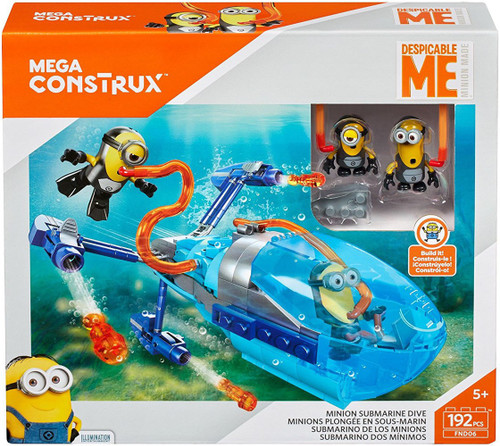 Despicable Me Minions Minion Submarine Dive Set