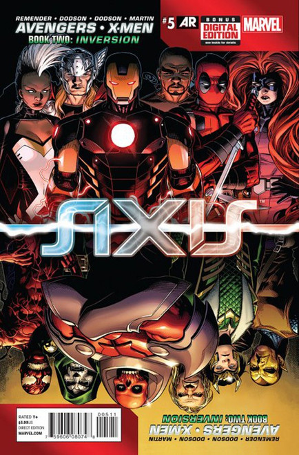 Marvel Comics Avengers vs X-Men #5 Axis Comic Book [Book Two: Inversion]