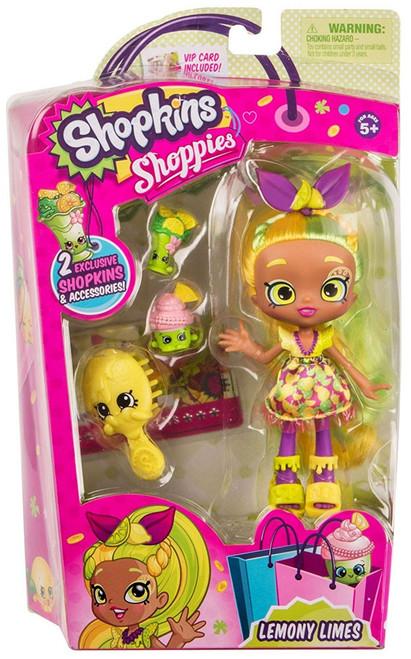 Shopkins Shoppies Season 4 Lemony Limes Doll Figure
