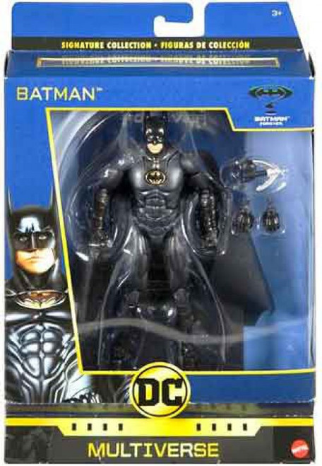 DC Batman Forever Multiverse Signature Collection Batman Action Figure [Val Kilmer]