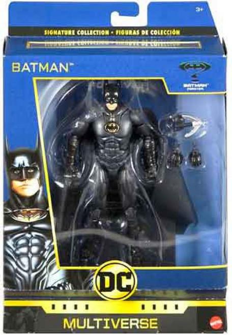 DC Batman Forever Multiverse Signature Collection Batman Action Figure [Val Kilmer]