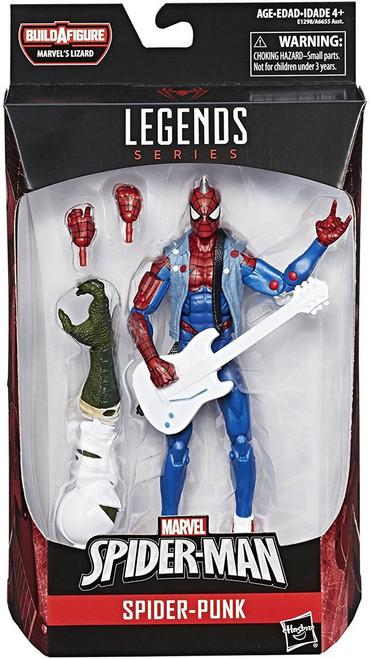 Spider-Man Marvel Legends Lizard Series Spider-Punk Action Figure
