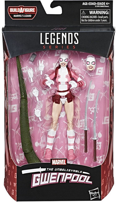 Spider-Man Marvel Legends Lizard Series Gwenpool Action Figure