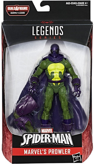Spider-Man Marvel Legends Lizard Series Prowler Action Figure