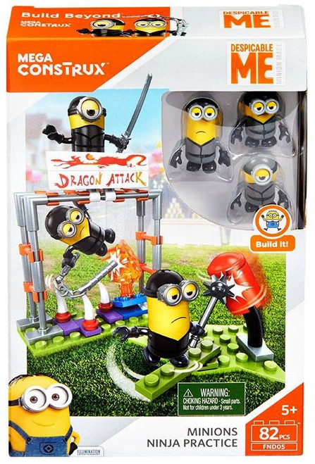 Despicable Me Minions Ninja Practice Set