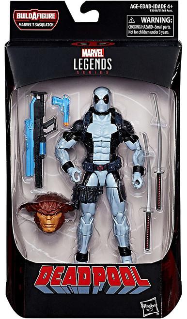 Marvel Legends Sasquatch Series Deadpool X-Force Action Figure