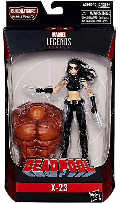 Deadpool Marvel Legends Sasquatch Series X-23 Action Figure [X-Force]
