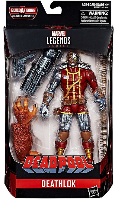 Deadpool Marvel Legends Sasquatch Series Deathlok Action Figure