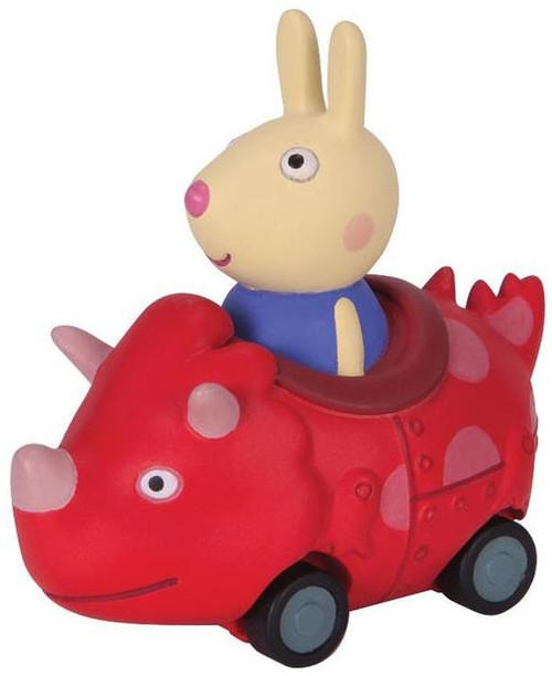 Peppa Pig Mini Buggy Richard Rabbit in Dinosaur Vehicle