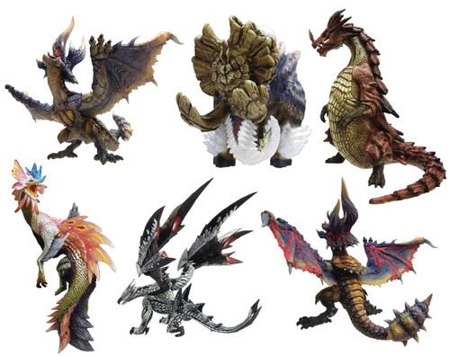 Capcom Monster Hunter Vol 8 Set of 6 CFB Standard Model