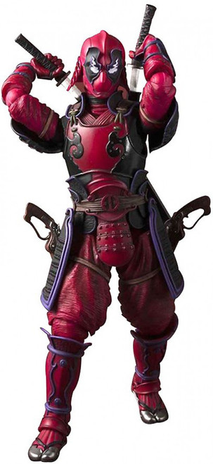 Marvel Meisho Manga Realization Samurai Deadpool Action Figure