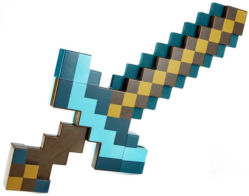 Minecraft Transforming Diamond Sword / Pickaxe Roleplay Toy