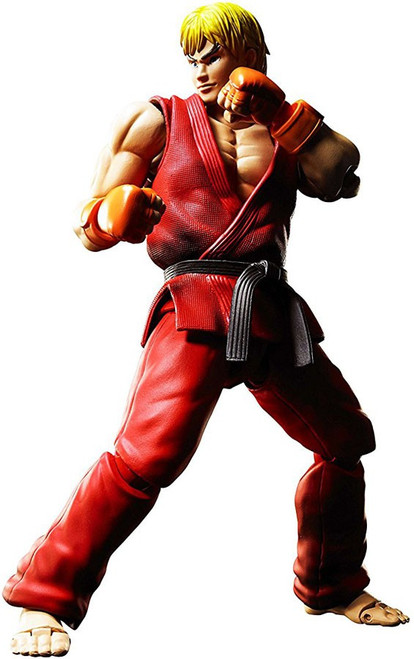 Street Fighter S.H. Figuarts Ken Masters Action Figure