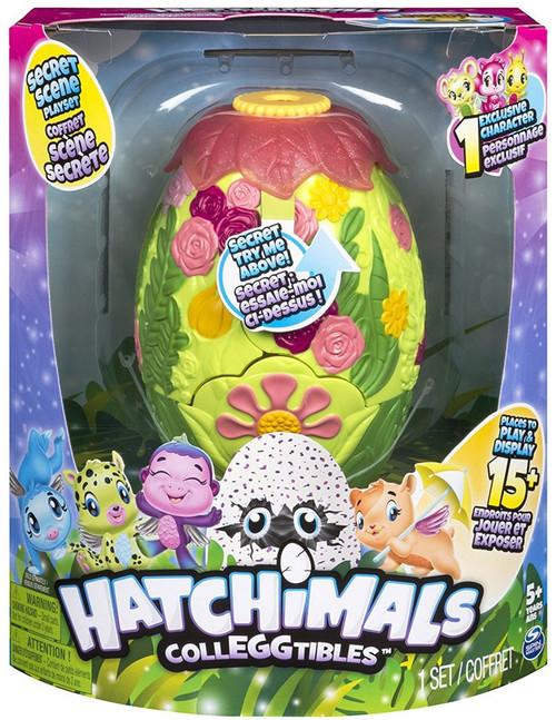 Hatchimals Colleggtibles Glittering Garden Secret Scene Playset