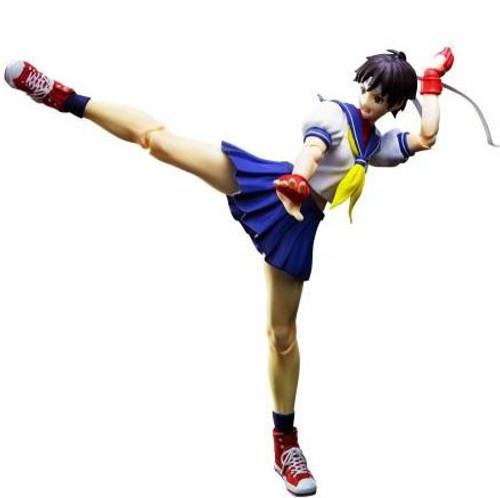 Street Fighter S.H. Figuarts Sakura Kasugano Action Figure