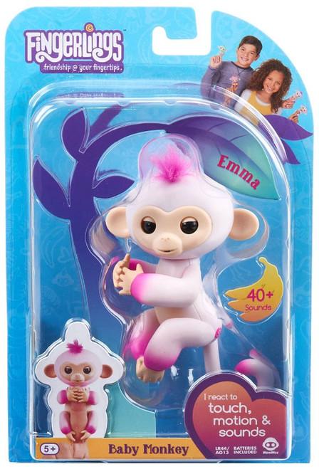 Fingerlings Baby Monkey Emma Figure