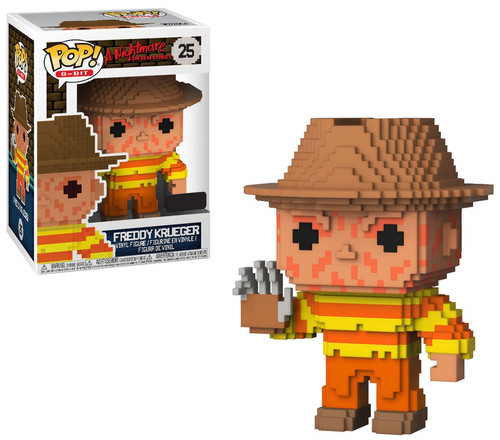 Funko Nightmare on Elm Street POP! 8-Bit Freddy Krueger Exclusive Vinyl Figure #25 [NES Colors]