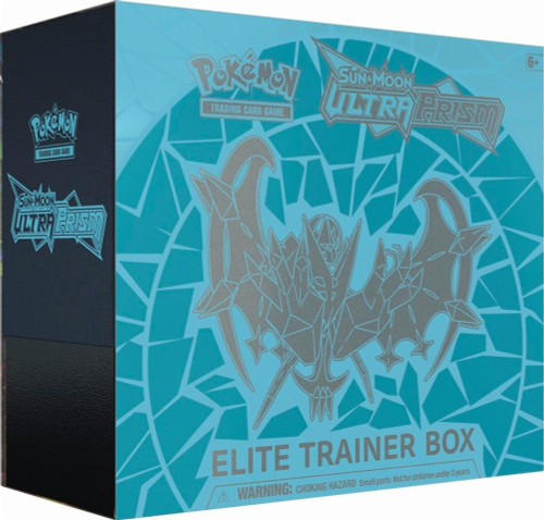 Pokemon Trading Card Game Sun & Moon Ultra Prism Dawn Mane Necrozma Elite Trainer Box [8 Booster Packs, 65 Card Sleeves & More]