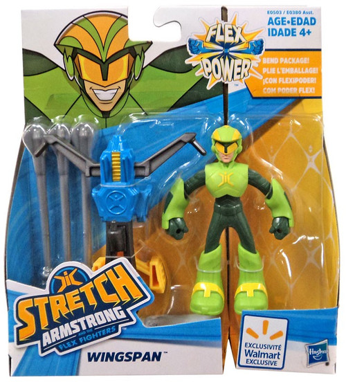 Stretch Armstrong & The Flex Fighters Wingspan Exclusive Action Figure