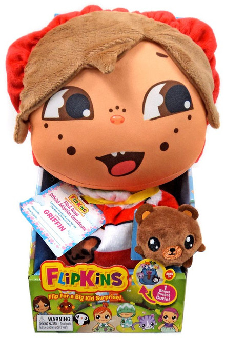 Flipkins Pocket Cuties Griffin 8-Inch Plush Doll