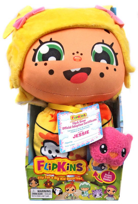 Flipkins Pocket Cuties Jessie 8-Inch Plush Doll