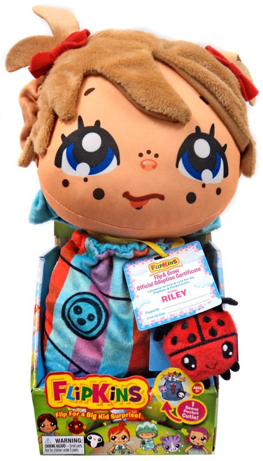 Flipkins Pocket Cuties Riley 8-Inch Plush Doll