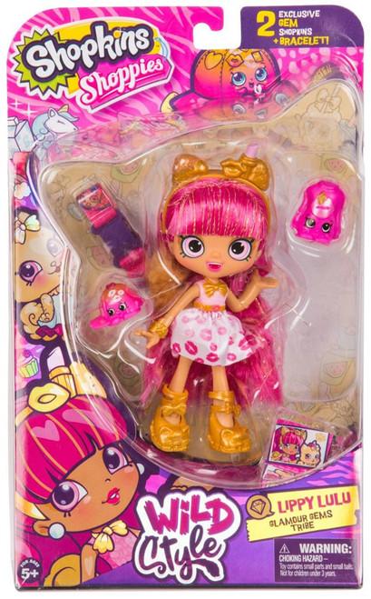 Shopkins Shoppies Season 9 Wild Style Lippy Lulu Doll Figure [Glamour Gems Tribe]