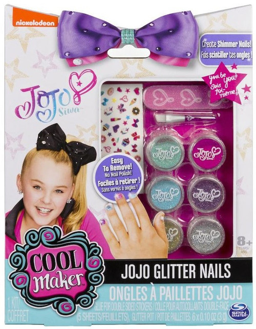 Nickelodeon JoJo Siwa Cool Maker JoJo Glitter Nails Kit