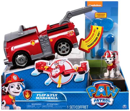 Paw Patrol Flip & Fly Marshall Vehicle & Figure