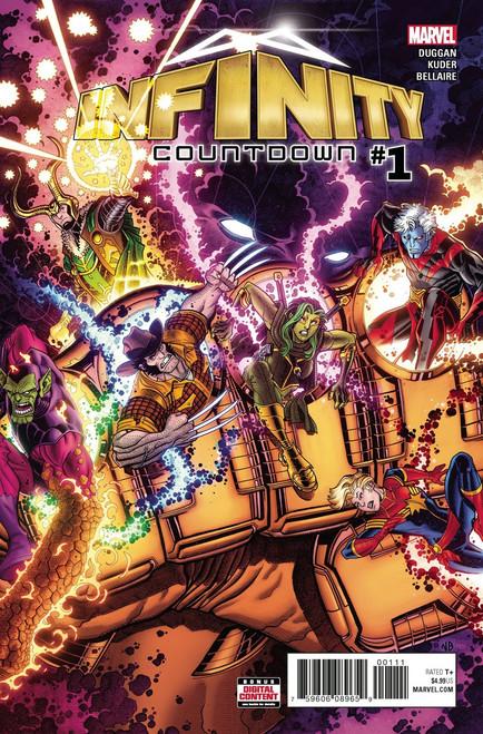 Marvel Comics Infinity Countdown #1 Comic Book