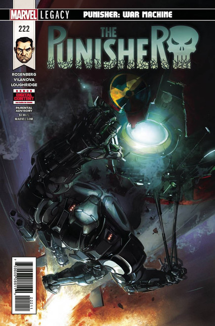 Marvel Comics The Punisher #222 Comic Book