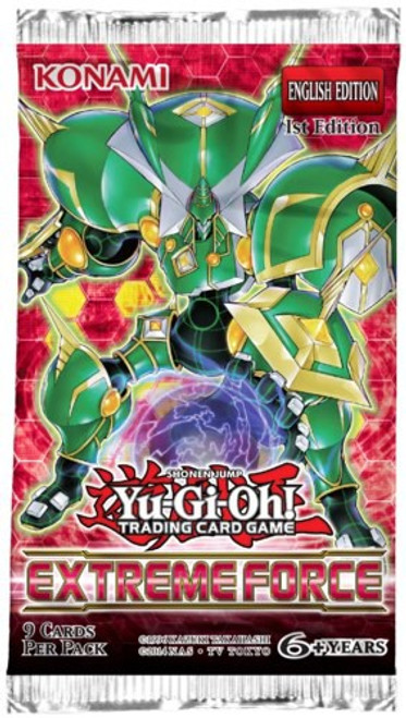 YuGiOh Trading Card Game Extreme Force Booster Pack