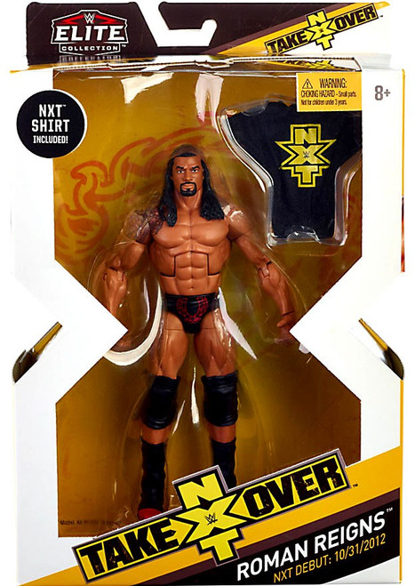 WWE Wrestling Elite NXT Takeover Roman Reigns Action Figure
