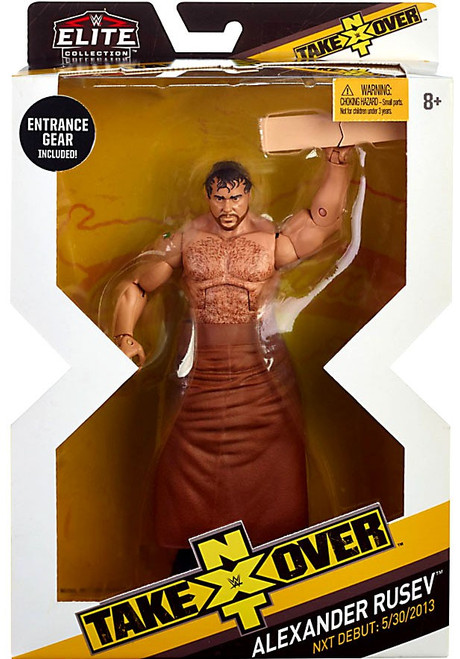 WWE Wrestling Elite NXT Takeover Alexander Rusev Action Figure
