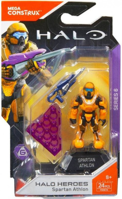 Halo Heroes Series 6 Spartan Athlon Mini Figure
