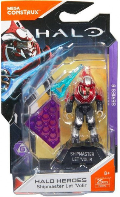 Halo Heroes Series 6 Shipmaster Let Volir Mini Figure