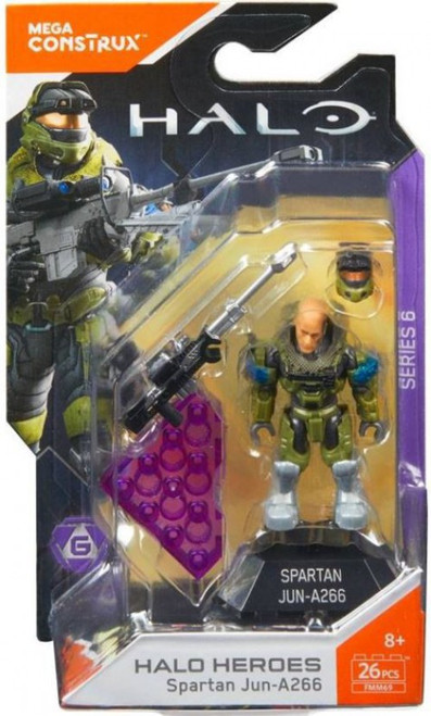 Halo Heroes Series 6 Spartan Jun-A266 Mini Figure