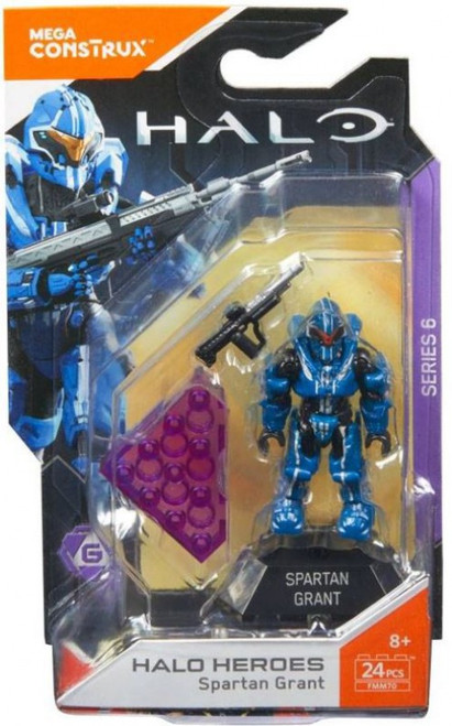 Halo Heroes Series 6 Spartan Grant Mini Figure