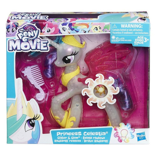 My Little Pony Friendship is Magic Glimmer Glow Princess Celestia Figure