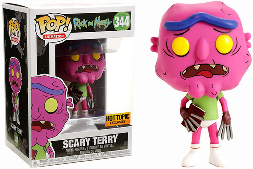 Funko Rick & Morty POP! Animation Scary Terry Exclusive Vinyl Figure #344 [No Pants]