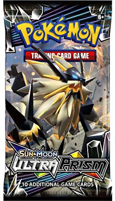 Pokemon Trading Card Game Sun & Moon Ultra Prism Booster Pack [10 Cards]