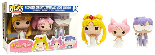 Funko Sailor Moon POP! Animation Neo Queen Serenity, Small Lady & King Endymion Exclusive Vinyl Figure